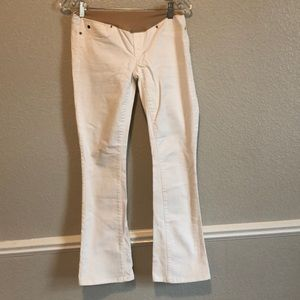 White maternity jeans size 25/0R
